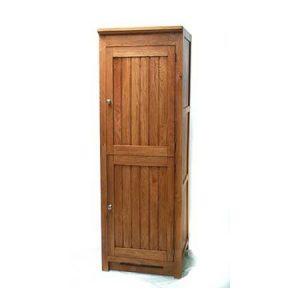 Oak Fridge Cabinet