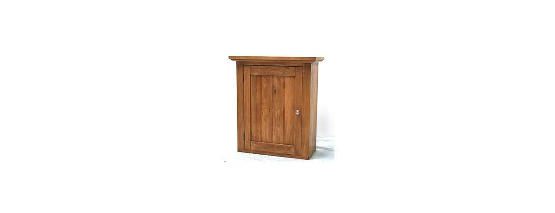 Oak Left Wall Cabinet