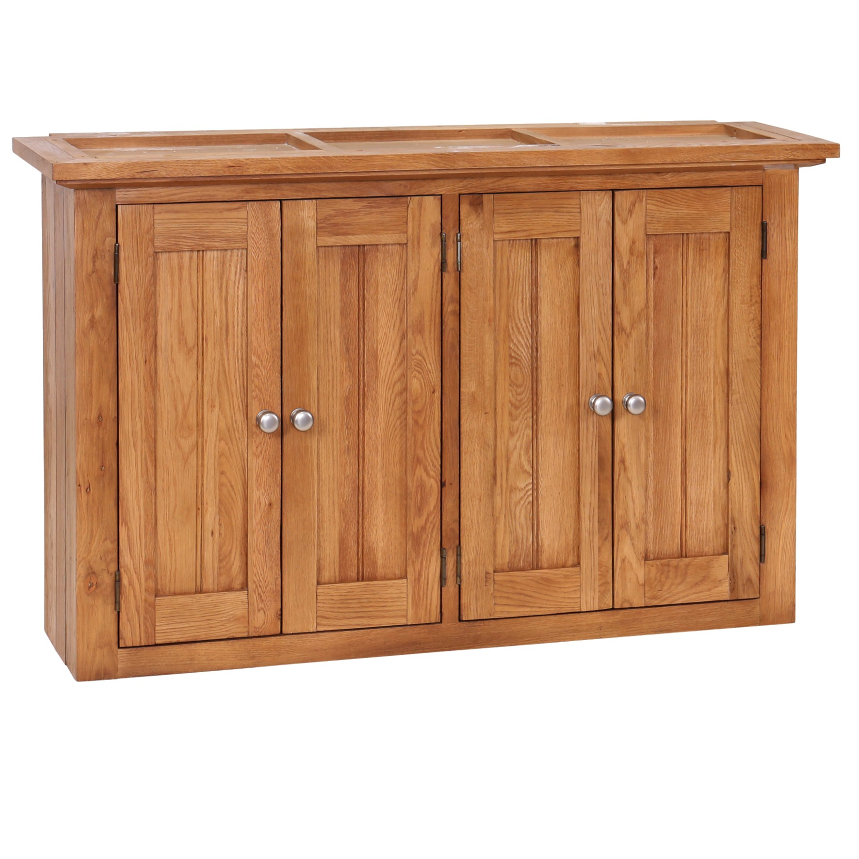 Avelyn Oak Wall Unit Cabinet