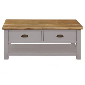 Charlton Grey - 2 Drawer Coffee Table 2