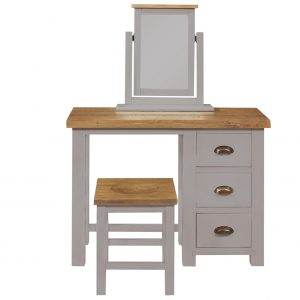 Charlton Grey - 3 Drawer Dressing Table 2