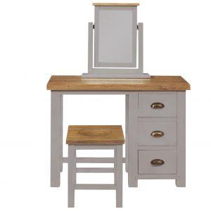 Charlton Grey - 3 Drawer Dressing Table 2