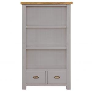 Charlton Grey Bookcase