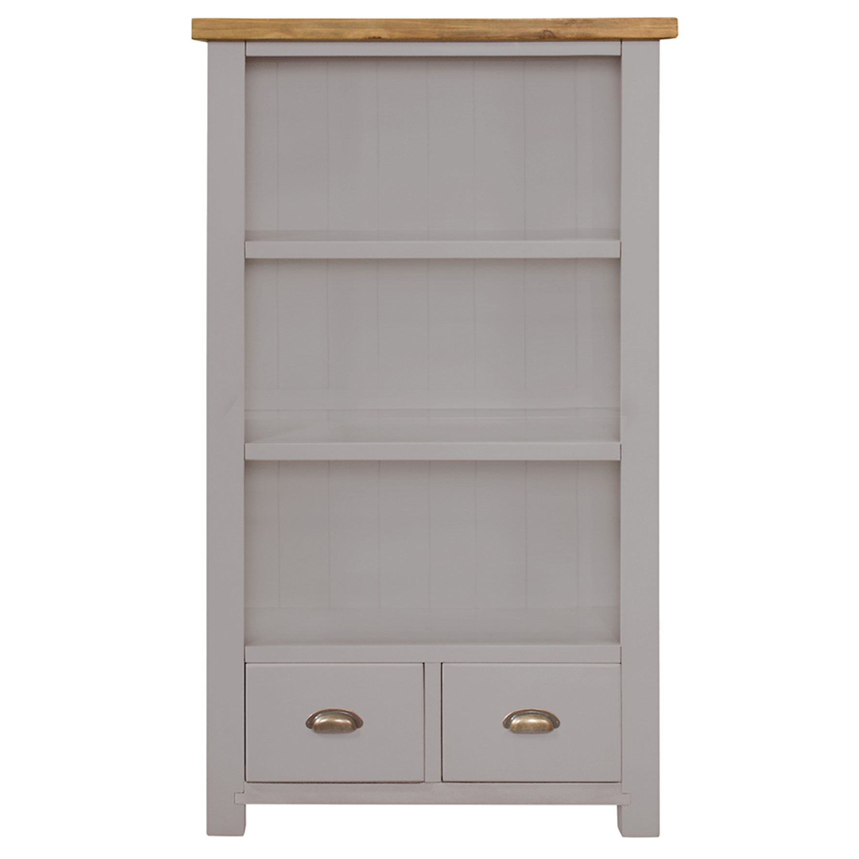 Charlton Grey Bookcase