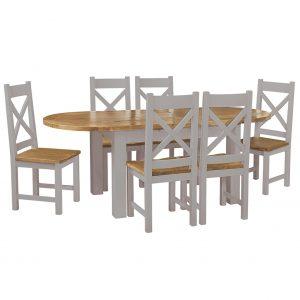 Charlton Grey - Dining Chairs
