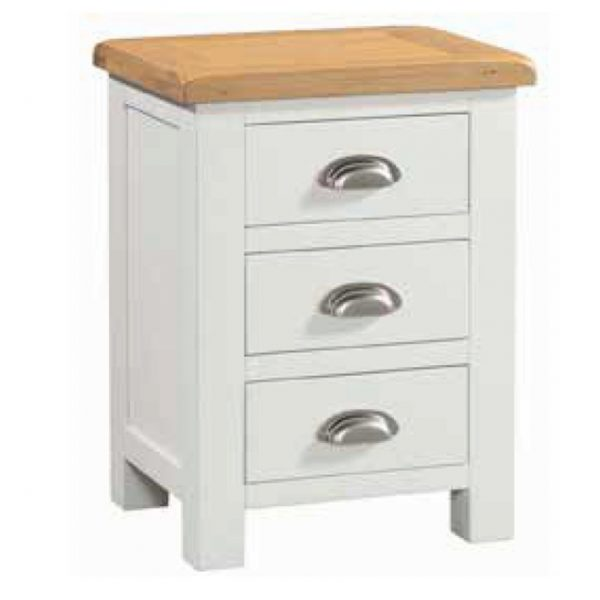 Halle – Bedside with 3 Drawers