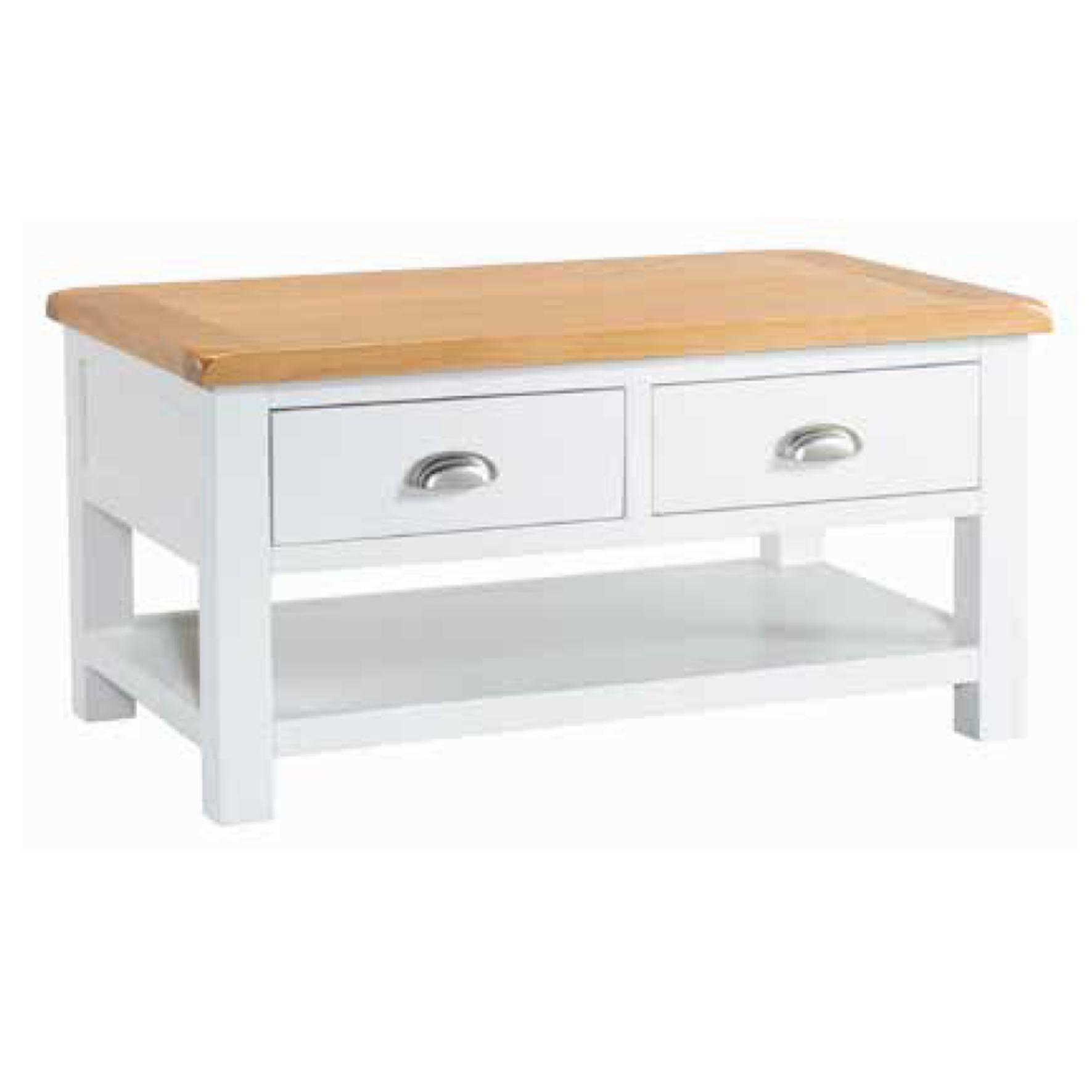 Halle - Coffee Table with 2 Drawers