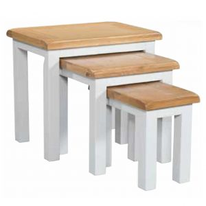 Halle Soft Cotton Nest Of Tables