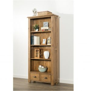 solid oak 6ft Bookcase