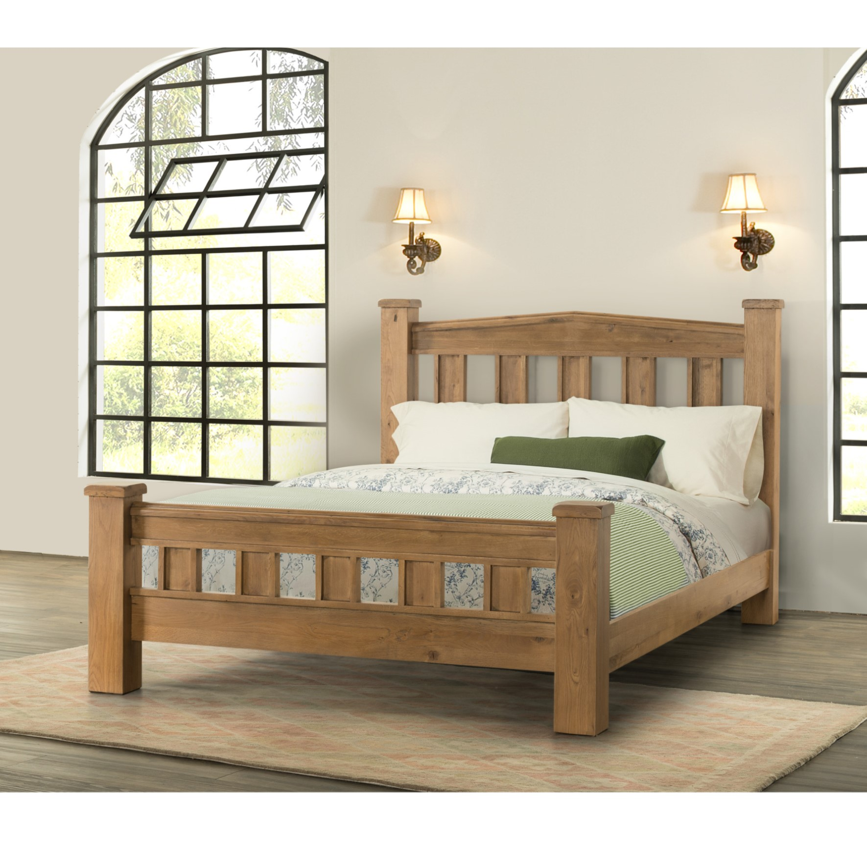 Harlow - Chunky 5ft Bed