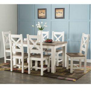 Porto - Fixed top Table 140 x 90cm