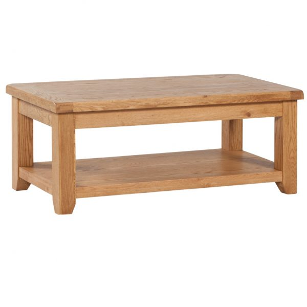 Vaughan – Large Coffee table with shelf