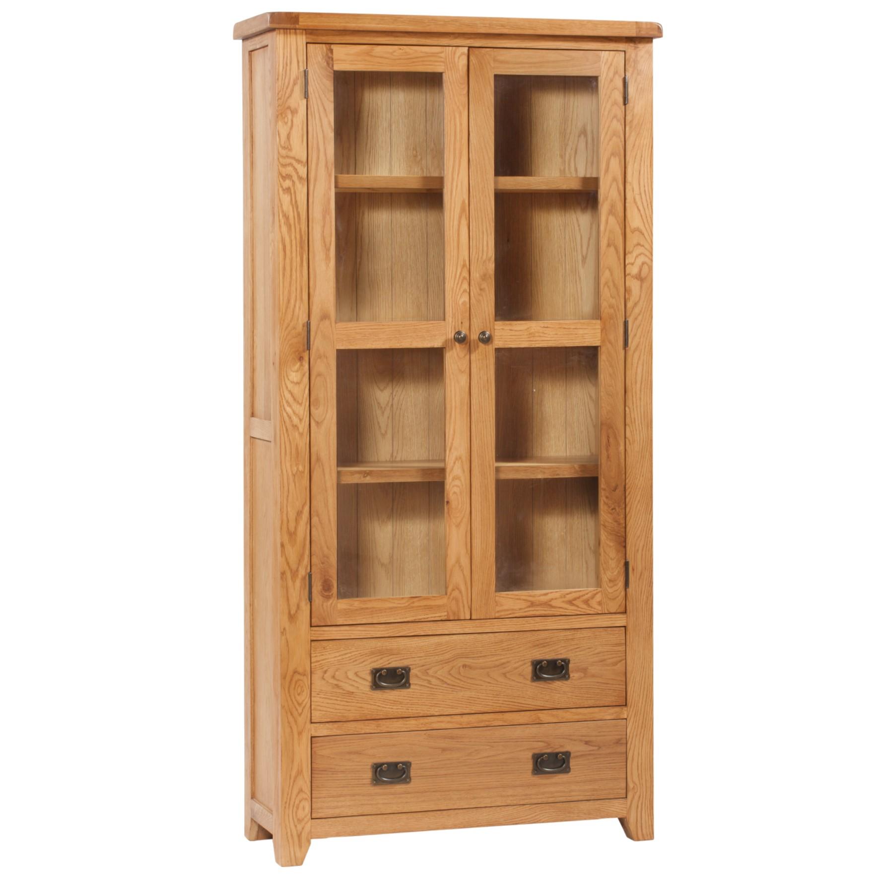Vaughan - Large Display Cabinet