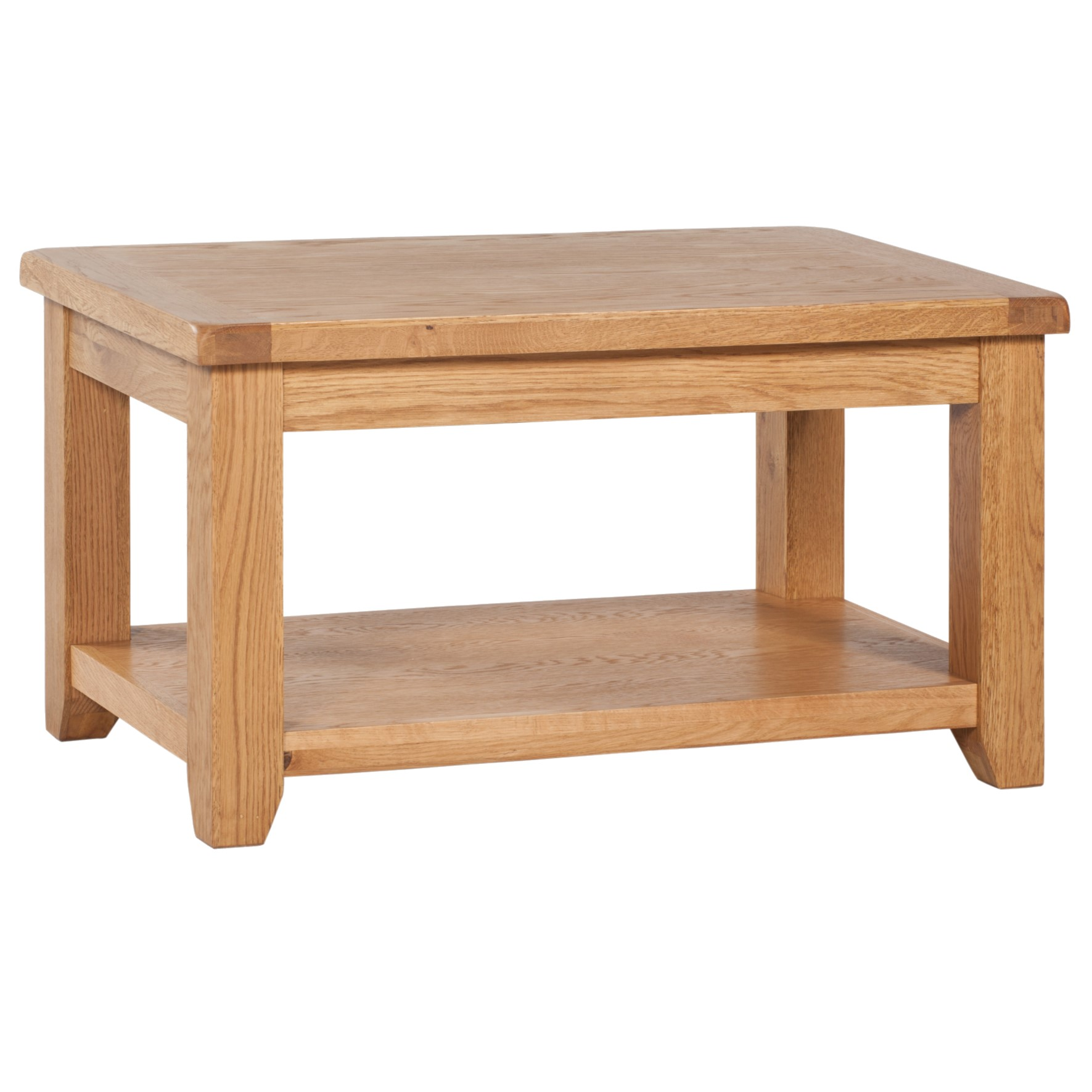 vaughan standard coffee table with shelf charnley 39 s