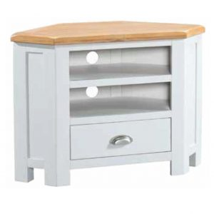Halle Painted Corner TV Unit