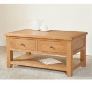 Stockholm – Coffee Table with 2 Drawers