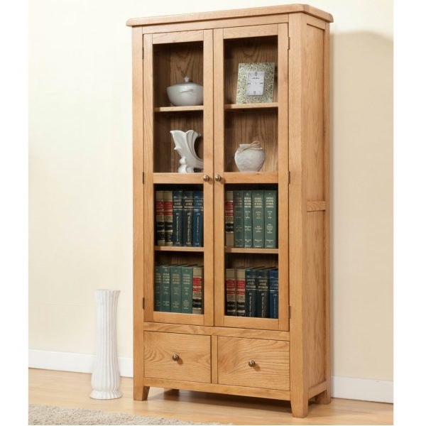 Stockholm Glass Door Display Cabinet Charnleys Home Garden
