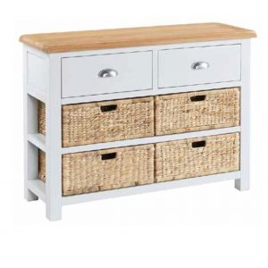 Halle Soft Cotton Large Console