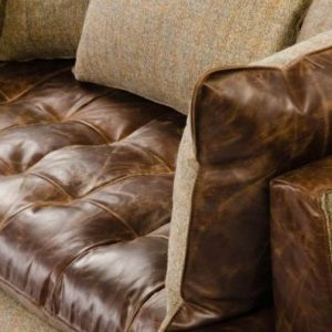 Portland Leather Sofa Detail 2