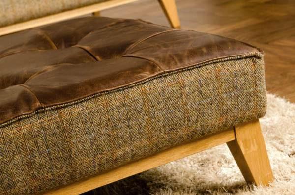 Portland Leather Sofa Detail 3