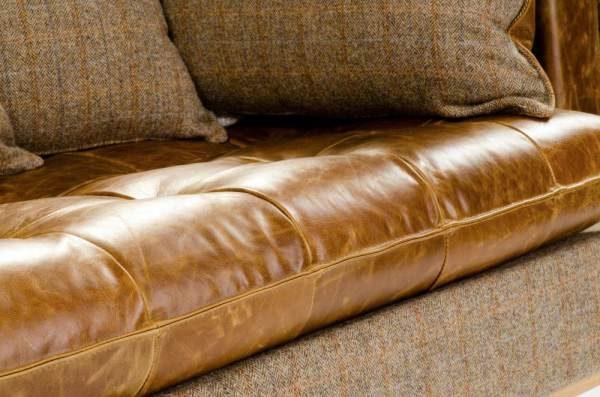 Portland Leather Sofa Detail
