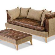 Portland Vintage Leather Sofa 1