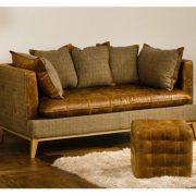 Portland Vintage Leather Sofa 5