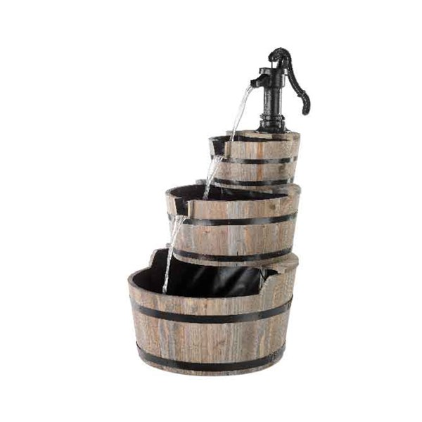 Barrel 3 Tier Fountain