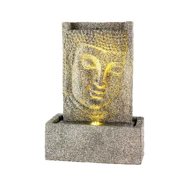 LED Wall Buddha