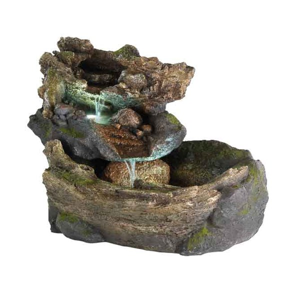 Large Log Fountain