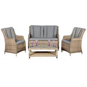 Rattan Lounge Set