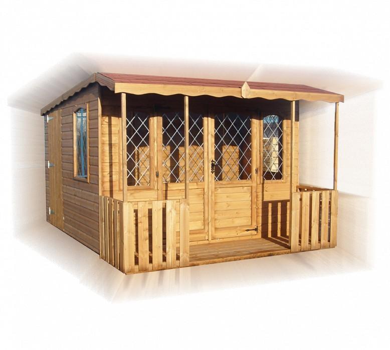 Dual Pent Summerhouse