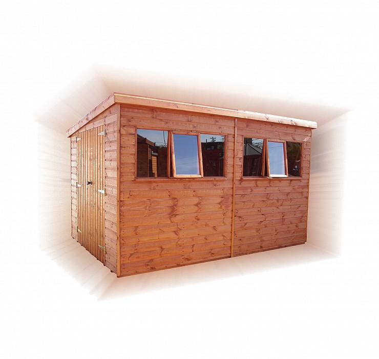 Heavy Duty Pent Shed