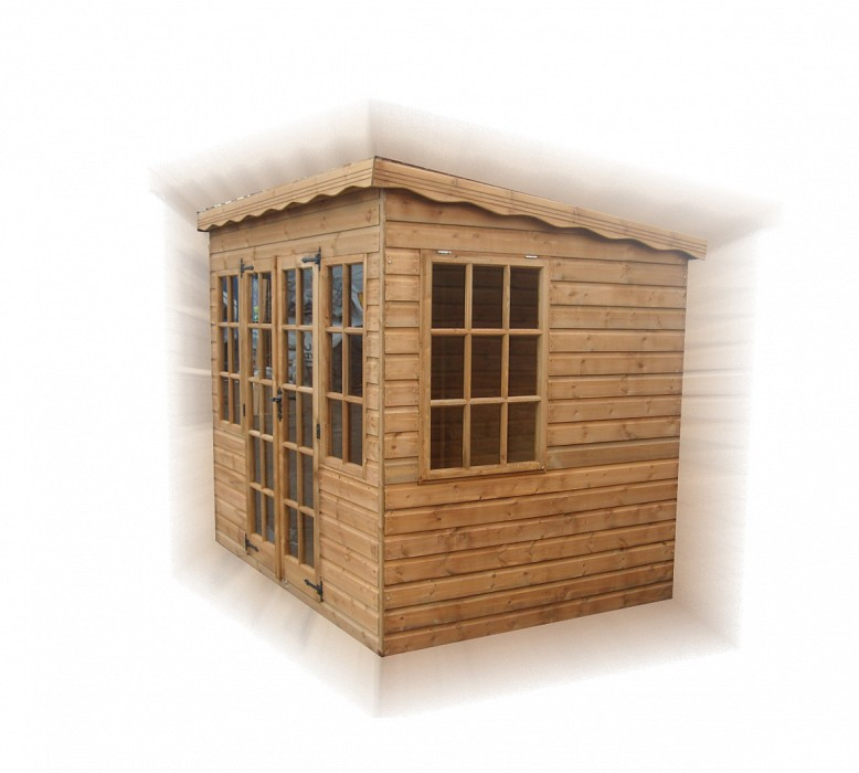 Pent Summerhouse