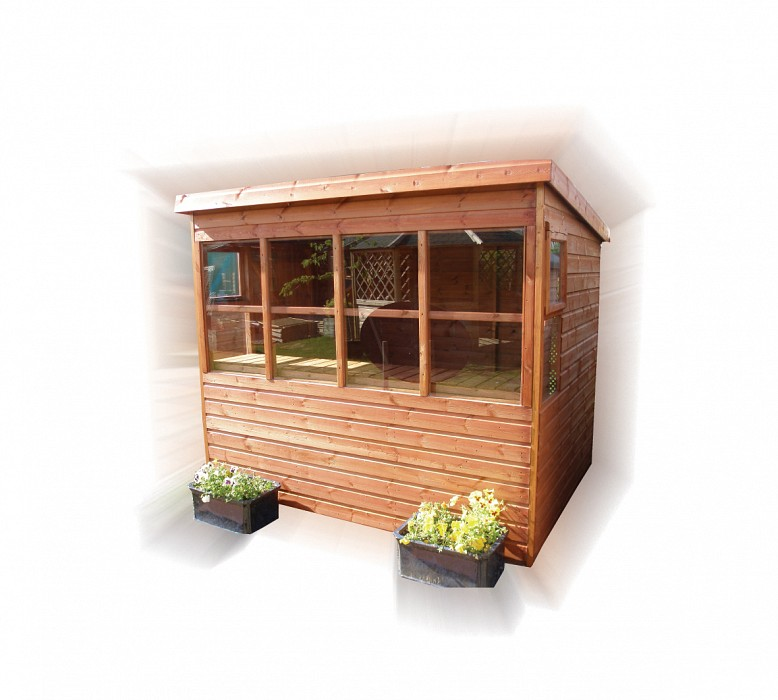 Sunflower Shed