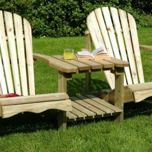 Double Garden Seat 2