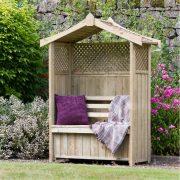 Haweswater Garden Arbour with Storage Box