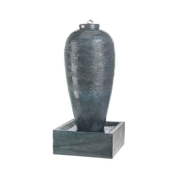 Slim Grey Jar Fountain