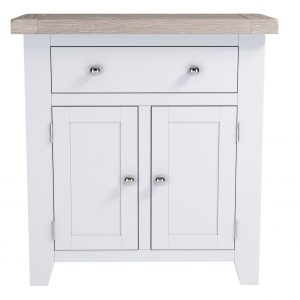 Chalked Oak Small Sideboard