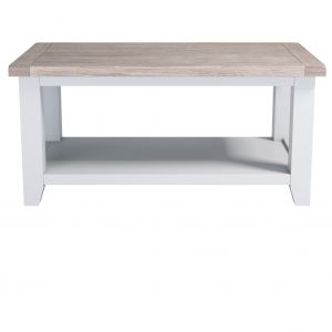 Chalked Oak Coffee Table