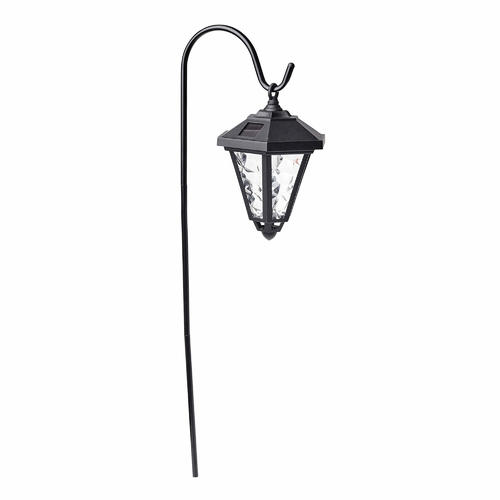 Solar Coach Light with Shepherd's Hook