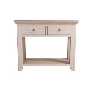 DAM114W-L large console table 2 drawers