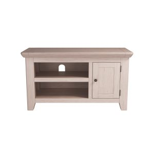 Smoked Oak Small TV Unit