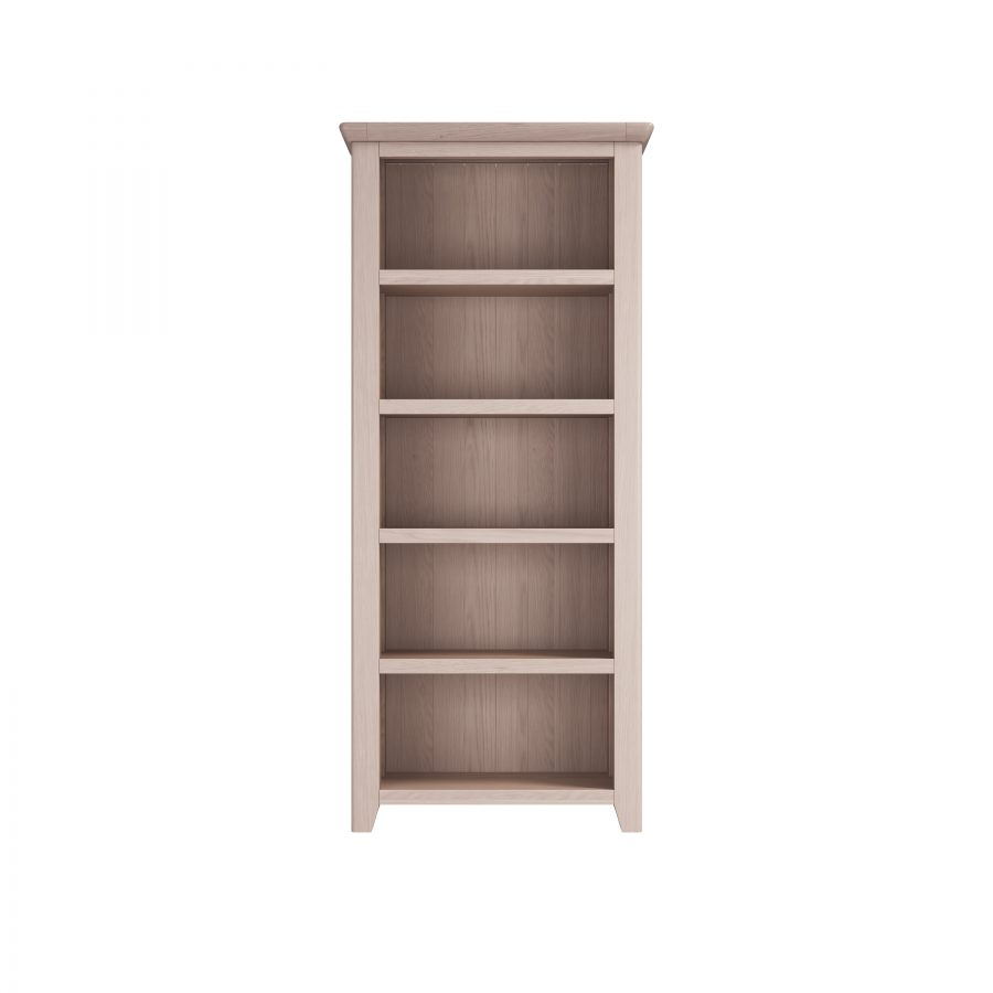 Smoked Oak Large Bookcase