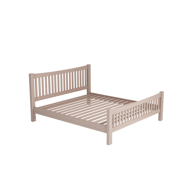 Smoked Oak Bed