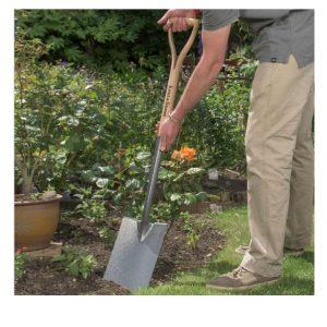 carbon steel digging spade 2