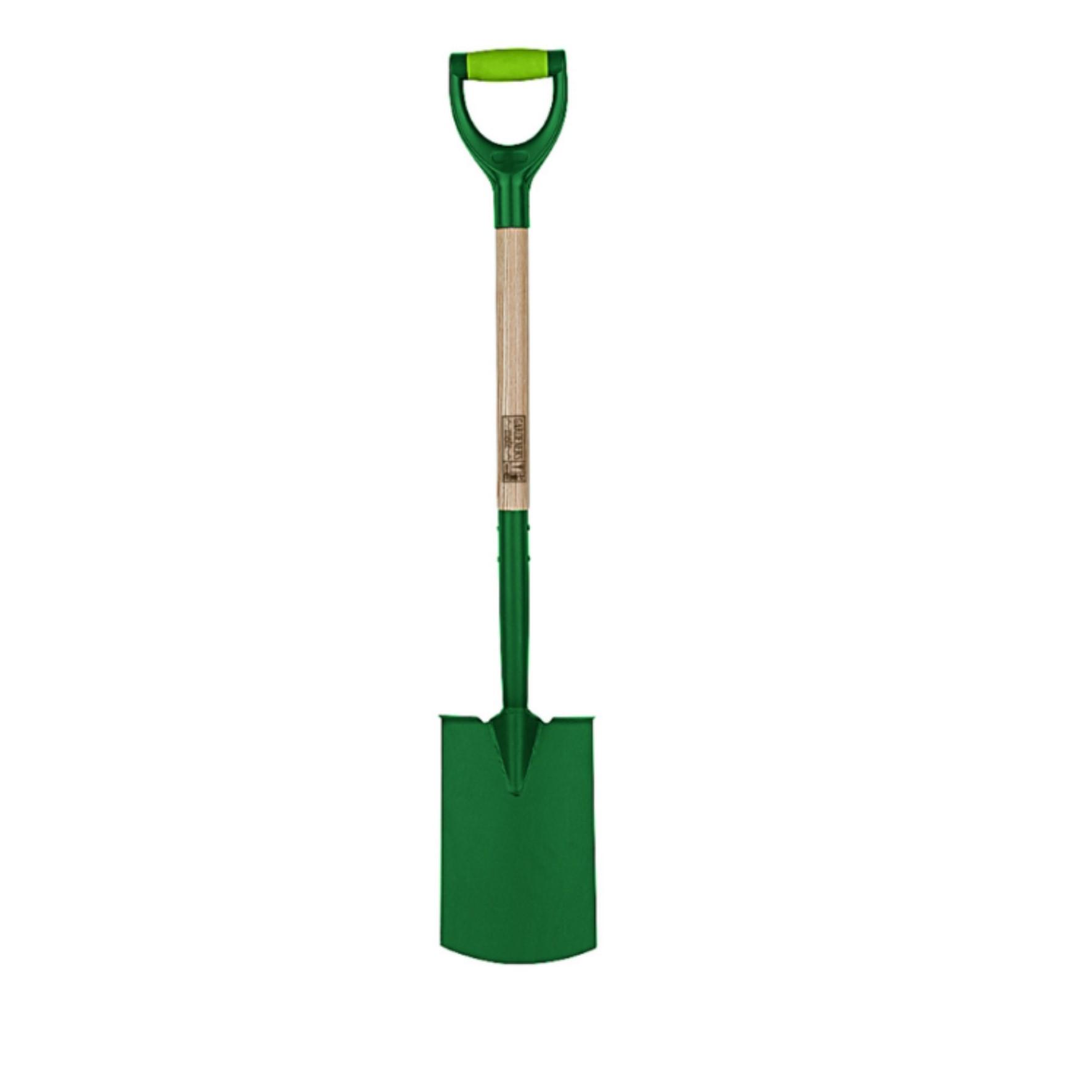 digging spade - green end