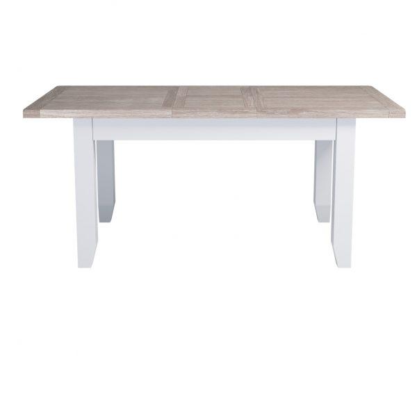 Chalked Oak Medium Extending Dining Table