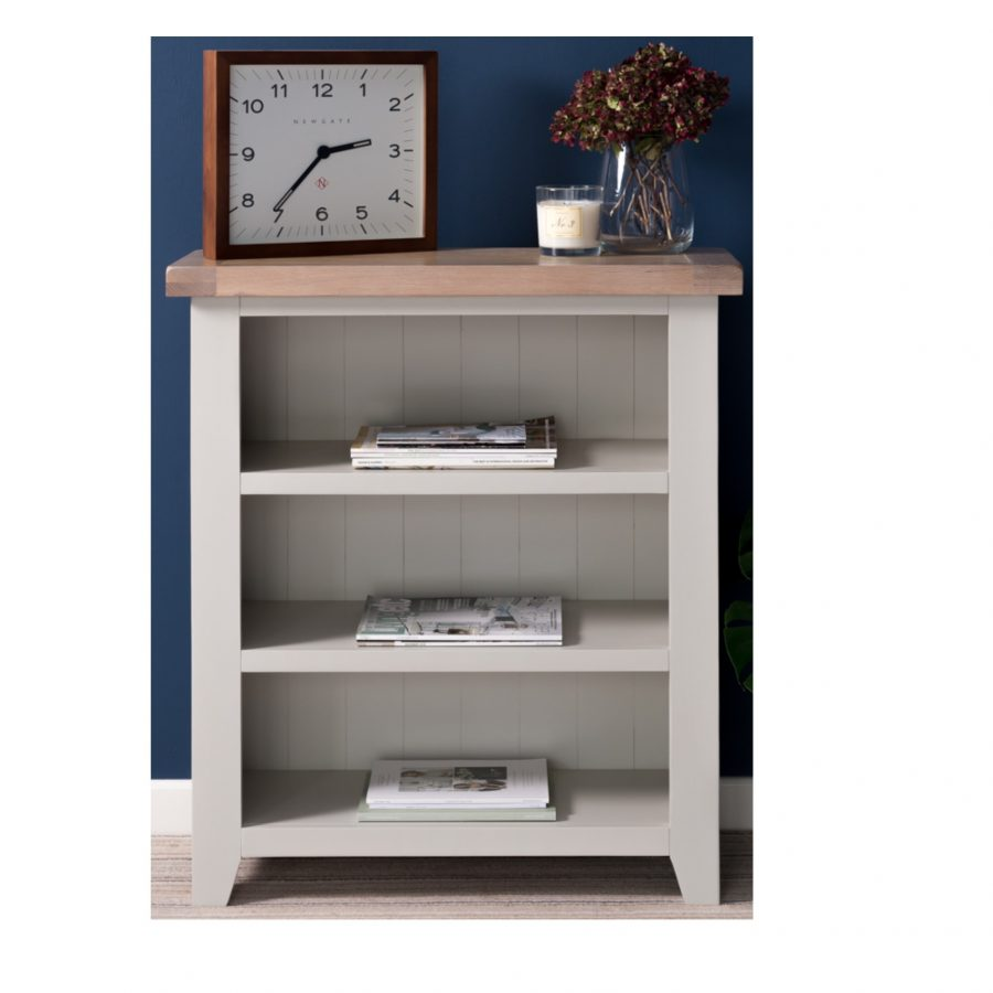 Chalked Oak Small Bookcase