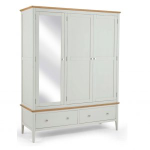 Bramley Triple Wardrobe & Mirror